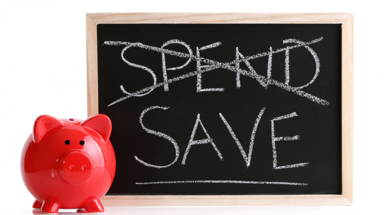 curb spending start saving