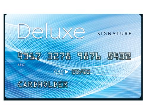 Deluxe Signature Card